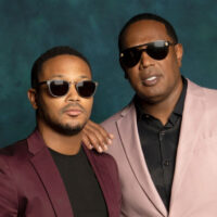 NEW ORLEANS, LA - JULY 05: Rapper Romeo Miller and dad/record producer/rapper Master P is photographed for Essence.com on July 5, 2019 at 2019 Essence Festival in New Orleans, Louisiana. (Photo by Michael Rowe/Contour by Getty Images)
